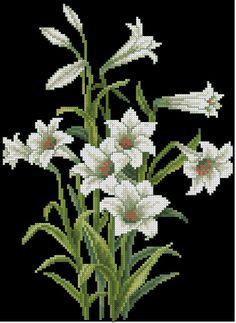 Cross Stitch Landscape, Crochet, Floral, Flowers, Cross Stitch Rose, Cross Stitch Embroidery, Counted Cross Stitches, Handmade Embroidery Designs, Horsehair