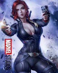 Black Widow Serving Tray by Logancure - x x 1 Marvel Dc, Marvel Girls, Comics Girls, Heros Comics, Dc Comics, Dark Fantasy Art, Fantasy Girl, Marvel Universe, Cartoon Girl Hot