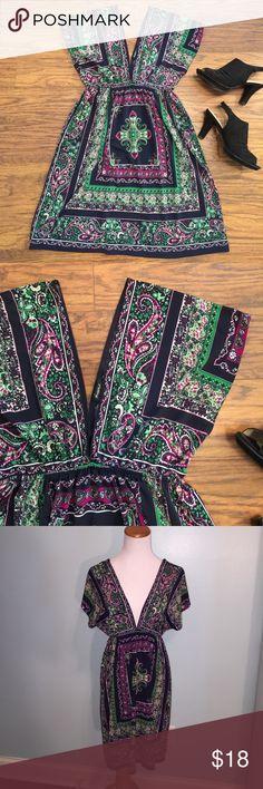 Spotted while shopping on Poshmark: Deep V minidress! #poshmark #fashion #shopping #style #Rhapsody #Dresses & Skirts