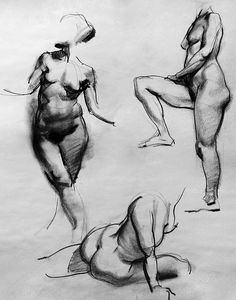 figure studies by Jaimie Jones;  illustrator and concept designer working in film, games and print; clients include Warner Bros., 20th Century Fox, Paramount, Bungie, NCSoft, Blizzard, National Geographic, and Penguin books.  http://www.artpad.org/gallery/drawings/