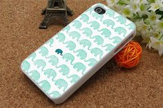 iphone 4 cases,iphone 5 cases, iphone 4s cases,iphone cases 4/5,iphone protector, iphone 4 Rubber cover, Elephant design on Etsy, $7.99