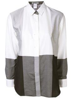 ISSEY MIYAKE Color Block Shirt
