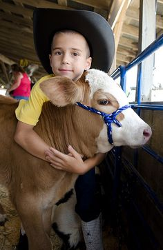 4-H project of raising and showing farm animals