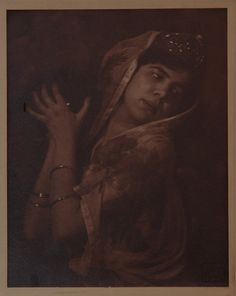 Drtikol, František - Ervína Kupferová as Salome