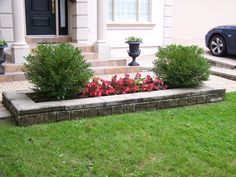 Someday i 39 ll live in a house long enough that my tiny for Low maintenance flowers for flower beds
