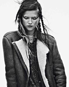 Kasia Struss Vogue Paris September 2013 Photographer Lachlan Bailey