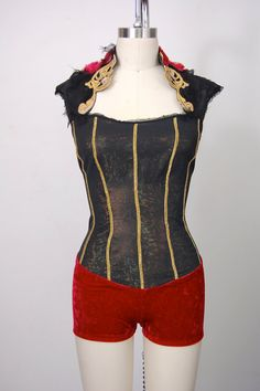 Aerial silks costume / custom dance costume / by HiWirecostumes