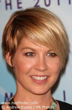 Jenna Elfman haircut.
