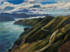 NZ Landscape French Pass Marlborough Sounds by John Horner French Pass, Marlborough Sounds, New Zealand Landscape, Sound Art, Mobile Art, Auckland, View Image, Art For Sale, Geography
