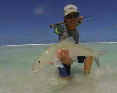 Beautiful bonefish on Fly. #reellife #gearthatfitsyourlifestyle www.reellifegear.com