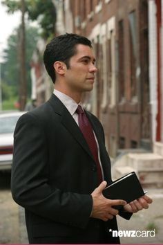 Medium shot of Danny Pino as Scott. (Photo by Eric Liebowitz/Warner Bros./Getty Images)