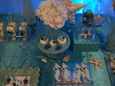 Winter and Under The Sea Quinceañera Party Ideas | Photo 8 of 19