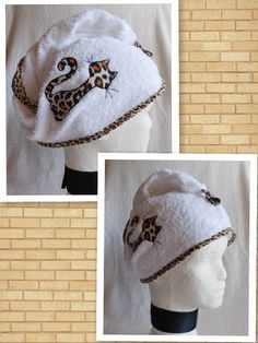 Turbante para después de la ducha Corset Pattern, Machine Embroidery, Sewing Patterns, Crochet Hats, Wool, Elegant, How To Make, Crafts, Handmade