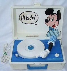 Mickey Record Player