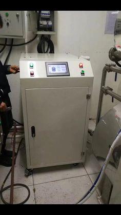 Induction preheating welding machine