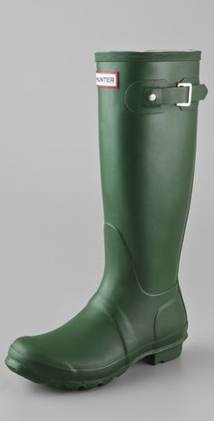 Hunter Boots Original Hunter Wellington Rain Boots - StyleSays