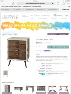 Temple and Webster Chest