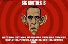 Big Brother is watching everything!!!!