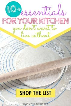 Essential tools for your kitchen (that you won't want to live without) — My Joy in Chaos Kitchen Items List, Kitchen Essentials List, Must Have Kitchen Gadgets, Essential Kitchen Tools, Without Me, Toy Kitchen, Family Life, Homemaking, Cool Kitchens