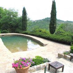 Pool at Villa Bruno Chianti Tuscany.