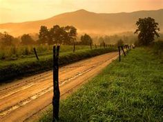 an old dirt road, and i'll be just fine :)