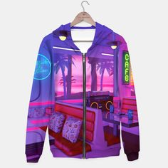 Cocktails And Dreams Hoodie