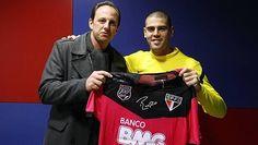 """Valdés faz elogios a Rogério Ceni: """"Atingiu marcas incríveis"""" (Fonte: Placar)"""