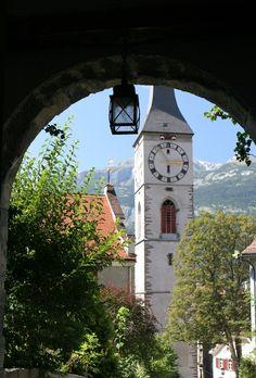 Chur, Switzerland Winterthur, Zermatt, Places To Travel, Travel Destinations, Places To Visit, Bern, Chur Switzerland, Swiss Clock, Wonderful Places