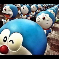 Doraemon (Matrix Feel) - @deankwan- #webstagram