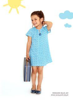 Dis Une Couleur - RODIAMS BLUE JAY DRESS + PANTS Blue Jay, Elegant Outfit, Mini, Little Ones, Dress Pants, Cold Shoulder Dress, Style Inspiration, Summer Dresses, Children