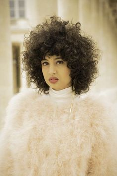 """The Coolest Haircuts From Around The World #refinery29  http://www.refinery29.com/hair-trends-paris-tokyo-london#slide-2  David Mallett Salon, Paris The Cut: """"Afro-fresh belle du jour""""Best For: Very curly hair This curly confection is what David Mallett stylist Etienne Sekola describes as the belle du jour for the Afro. The details, he says, are in the soft ends. He cut a f..."""