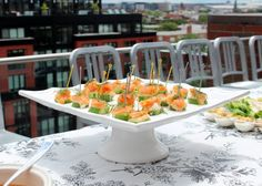 #PartyPlan – Sunday Funday Brunch! | Social and Style | Smoked Salmon Bites