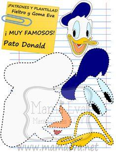 También estaba ya por aquí el Pato Donald que nos habéis pedido.