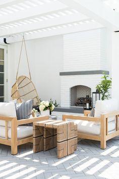 Outdoor Spaces Design, California Casita, Backyard Lounge | Studio McGee Design
