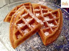 waffle senza burro - dolci senza burro