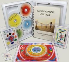 The Raising Natural Children set consists of four seminars that cover the condition, gifts and resources of the parents; the effects of one's history on one's children; the mathematics of producing wanted children, and the power of being involved in the real education of your children.  Also included: a Perfect Balance Card, a QuietPlease Card, a Super Little Wonder Card, and a home (or work space) Balanced Space Symbol based on the principles of Feng Shui. US $395 (plus shipping).