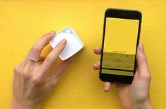 Com o SwatchMate Cube, você pode capturar a cor de absolutamente QUALQUER coisa a sua volta;