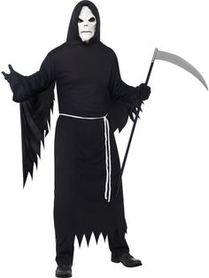 Grim Reaper Costume with Mask | £39.99