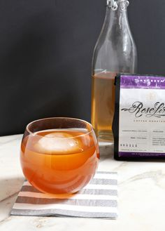 Slightly sweet and balanced, the African Sunrise is the perfect coffee cocktail for brunch! A spin on the traditional mimosa, it tastes like grapefruit with just a touch of the coffee