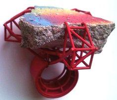 Robean Visschers  - another construction/structure ring - glorious !