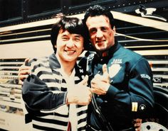 #Stallone y #Jackie Chan