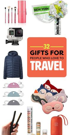 34 Gifts For People Who Love To Travel