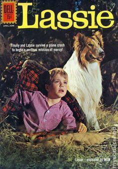 lassie comic book | Lassie (1950) comic books