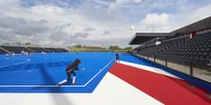 Lee Valley Hockey and Tennis Centre / Stanton Williams