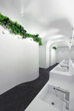 Underground washroom