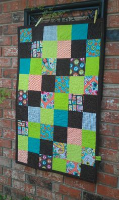 Baby Crib Size Quilt and Ready to Ship Very by TeriClothCreations, $185.00