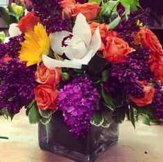 A colorful Mother's Day arrangement.