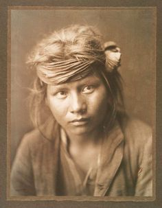 Navajo Boy 1904, Edward Curtis
