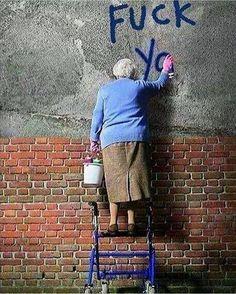 "705 Likes, 3 Comments - Antonio Djanikian (@antoniodjanikian) on Instagram: ""Grandma 👵 2 (in color) #grandmother #grandma #graffiti #graffitiart #graphicart #spray #sprayart…"""