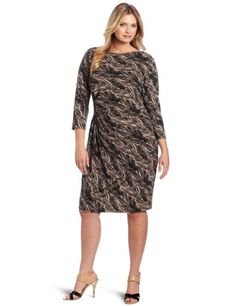 Anne Klein Women's Plus-Size Dress « Clothing Impulse